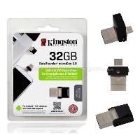 KINGSTON 32GB MCRO DUO USB 3.0 OTG  DTDUO3/32G Usb Bellek
