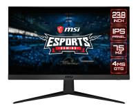 """23.8"""" MSI OPTIX G241V 4Ms 75Hz FHD HDMI/DP Siyah Gaming Monitör"""