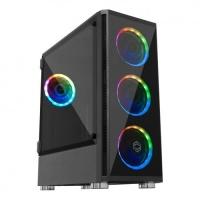 ATX-FRISBY FC-9270G 650W 4X120CM RGB Fanlı KASA