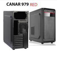 CANAR 951-BU 250W Siyah 2*Usb 2.0 Kasa