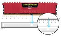 CORSAIR 16GB DDR4 3200MHz VENGEANCE BLACK CL16 SOGUTUCULU (CMK16GX4M1E3200C16)