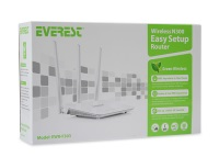 aEVEREST EWR-F303 ROUTER ACCES POINT 4PORT 300M