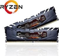 GSKILL Flare X DDR4-3200Mhz CL16 16GB (2x8GB) F4-3200C16D-16GFX AMD Ryzen Uyumlu (16-18-18-38) 1.35V