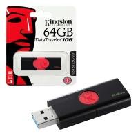 KINGSTON DT106/64GB 64GB USB 3.0 BELLEK