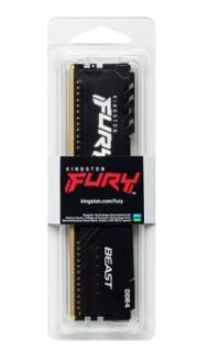 RAM-PC KINGSTON Hyperx Furry Black 8GB 2666Mh DDR4