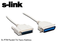 S-LINK P7M PARALEL 7MT Yazıcı Kablosu  lpt kablo